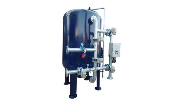 Çelik Tanklı Yüzey Borulamalı Kum Filtre Sistemleri