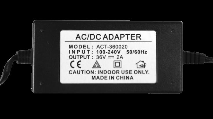 Elektronik Adaptör 36V 2 A
