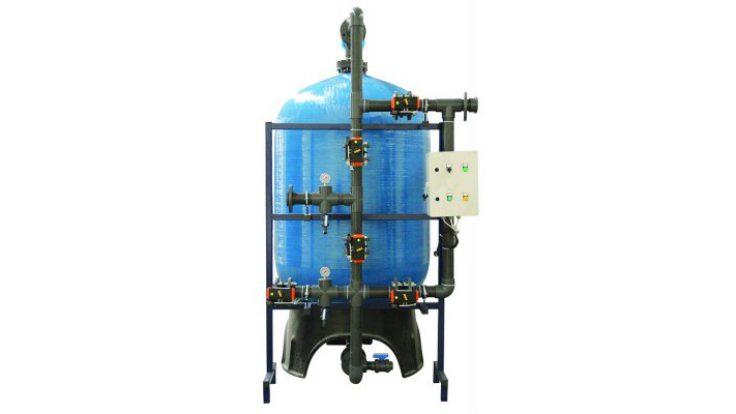 FRP Tanklı Yüzey Borulamalı Kum Filtre Sistemleri
