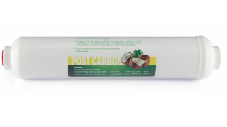 Ravent Inline Coconat Post Karbon Filtre